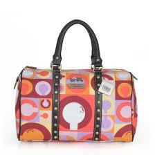 Coach Poppy Stud Medium Multicolor Luggage Bags 21654