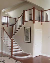 Staircase Railing Ideas way to installing wooden railing for staircase the home ideas 7450 by xevi.us