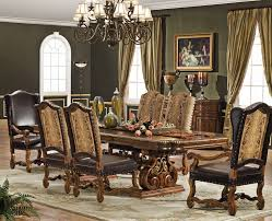 Formal Dining Room Sets For 10 Great Double Square Pedestal Legs Solid Wood Formal Dining Room Sets