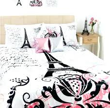eiffel tower bedding and comforter set tower bedding set tower bedding for teens stunning tower black