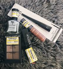 makeup haul clearance finds