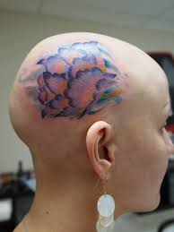тату на голове у девушки тату на голове татуировки на затылке у