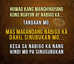 Tagalog Motivational Quotes and Messages | Girl Banat via Relatably.com