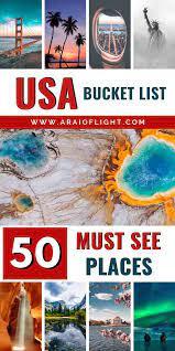 usa bucket list travel experts reveal