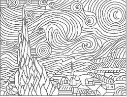 Small Picture Art Coloring Pages