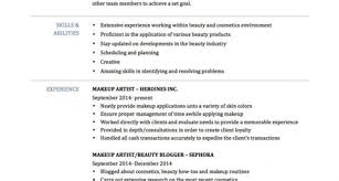 Art Resume Templates Costumepartyrun