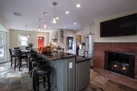 Kitchen Diy Kitchen Remodel With Island And Pendant Lamp For - Kitchens remodeling