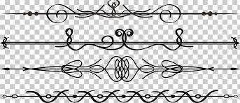 Adobe Illustrator Calligraphy Illustration Cute Border Several