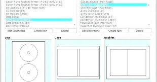 Cd Case Design Template Cd Insert Template Photoshop