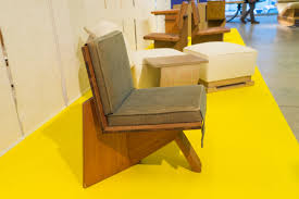 architectural furniture design. A Frank Lloyd Wright Armchair From The Clarence Sondern House, Architectural Furniture Design N