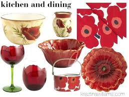 poppy home decor home decor trend home goods in red poppy poppys