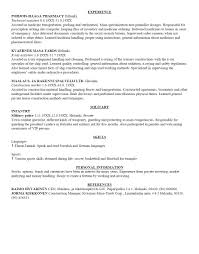 How To Fill Out A Resume For First Job How To Set Up Resumer College Create On Ms Word Fill Out First Job 7