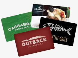 bloomin faceplates outback steakhouse gift card