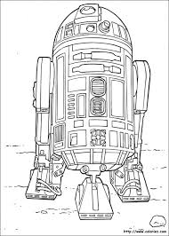 R2 D2 Le Robot Un Astro Droïde 1980s Robots Disney Coloring