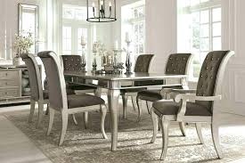 formal dining room sets for round elegant table neo renaissance set 108 upholstered chairs f