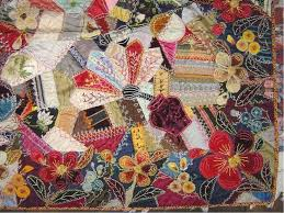 63 best Crazy quilt images on Pinterest & An antique crazy quilt with lots of embellishments: Adamdwight.com