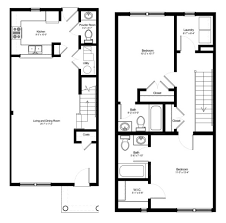 townhouse floor plans 2 bedroom photos and