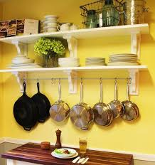 kitchen hanging pot rack lovely 41 elegant hang pots and pans wall diy