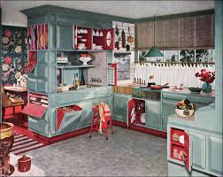 awesome retro kitchen curtains 1950s 5