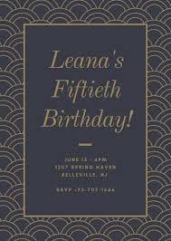 Customize 988 50th Birthday Invitation Templates Online Canva