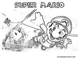 Super Mario Coloring Pages Coloring Pages For Kids 28 Free