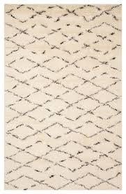 safavieh casablanca csb847a ivory brown rug scandinavian area rugs by arearugs