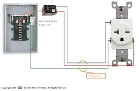 250 volt outlet wiring diagram wiring diagram for 220 outlet the wiring diagram how to wire a 20 amp 240 volt