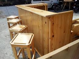 wood patio bar set. Wooden Pallet Bar Consisting Of Chairs And Tables Wood Patio Set T