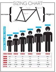 Ladies Road Bike Size Chart Scott Bikes Size Chart Road