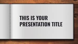 Google Slides Book Template Free Powerpoint Template Or Google Slides Theme With Open
