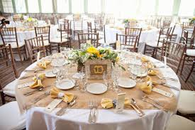 burlap table setting ideas overlay my wedding