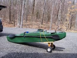 trolley for fishing kayak massachusetts
