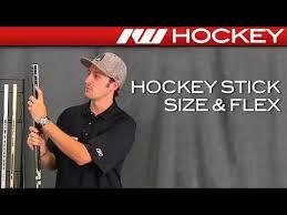 Hockey Stick Flex Chart Hockey Stick Size Flex Youtube