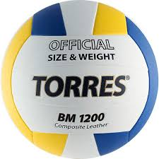 Купить <b>Мяч волейбольный TORRES</b> BM1200 р.5 (V40035) в ...