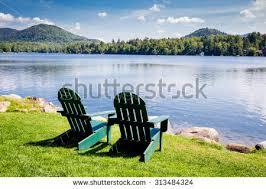 adirondack chairs lake. Wonderful Lake Adirondack Chairs Mirror Lake Lake Placid New York Summer Vacation  Outdoors To Chairs C