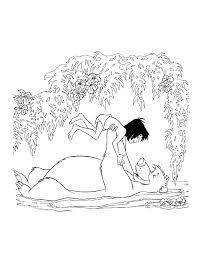 Gratis Jungle Book Kleurplaten Voor Kinderen 11