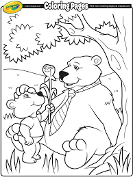 Small Picture daddy bear coloring page crayolacom coloring pages free halloween