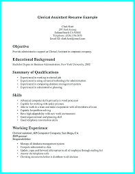 resume objective clerical clerical resume examples clerical resume templates all best resume