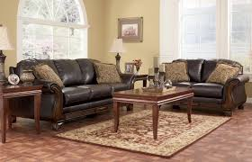 Leather Living Rooms Sets Impressive Design Ashley Leather Living Room Sets Pretty Looking