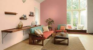 wall colour combination for living room