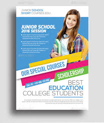 Advertising Flyers Samples 35 Amazing Education Flyer Templates Creatives Psd