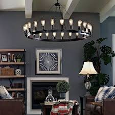 bulb chandelier large 4 edison light