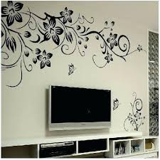 wall stickers decoration for home hot wall art decal decoration fashion romantic flower wall sticker wall