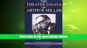 audiobook the theater essays of arthur miller arthur miller for 00 34