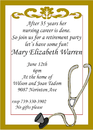 Retirement Party Invitations Custom Designed New For Winter 2019