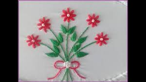 Stitch N Time Embroidery Designs Hand Embroidery Step By Step Stem Stitch And Satin Stitch