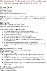 restaurant manager resume example examples of resumes extended essay abstract example good sans serif fonts resume