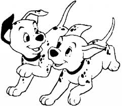 Small Picture 101 Dalmatians Coloring Pages zimeonme