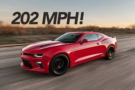 2016 Chevy Camaro SS Tuned by Hennessey Reaches 202 MPH ...
