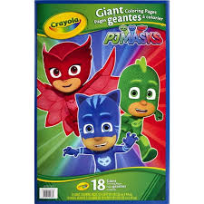 Just print them out for your next disney party! Crayola Giant Coloring Featuring Disney Pj Masks Child 18 Pages Walmart Com Walmart Com